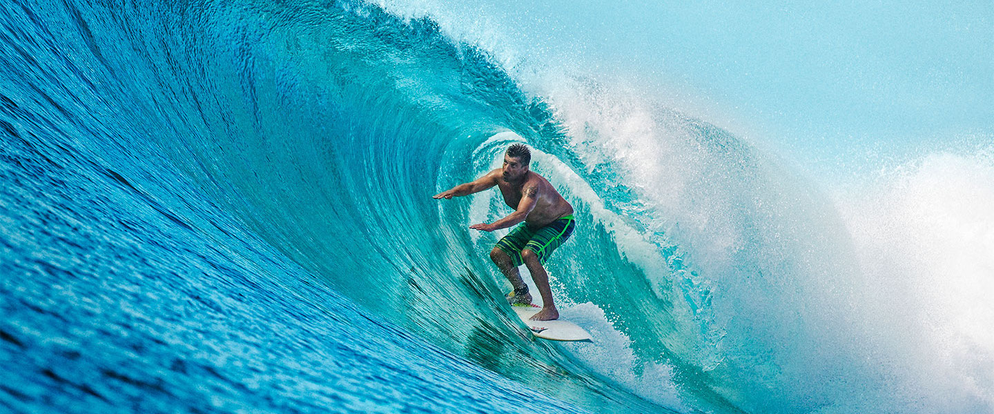 Surfboat Maldives Barrel Secret Spot