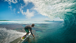 Maldives Surfing Five Islands Huvadhoo Atoll