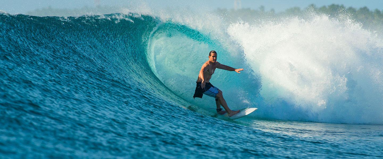 Maldives Surfboat Wave Five Islands Barrel Tube