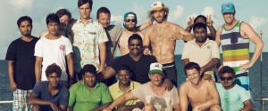 Maldives Blue Shark I with Surfboat